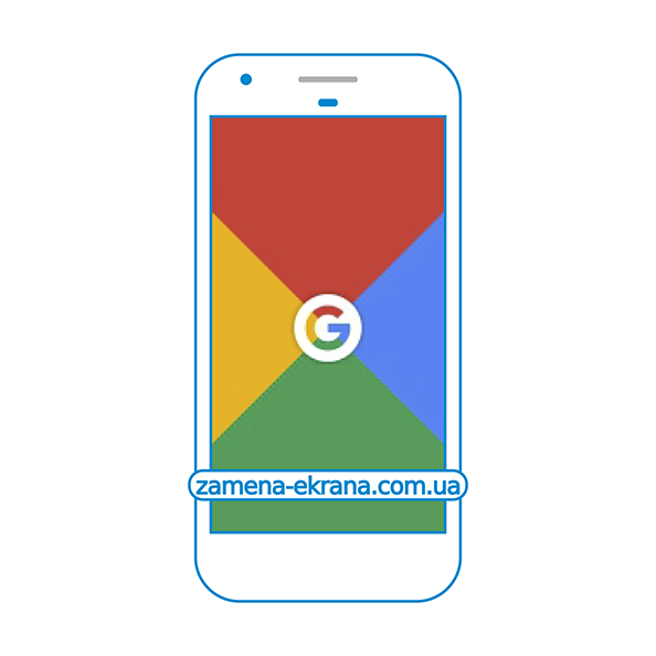 дисплей и стекло корпуса  для замены Google Pixel
