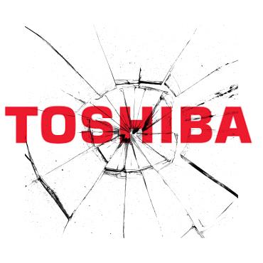 замена экрана на планшетах Toshiba