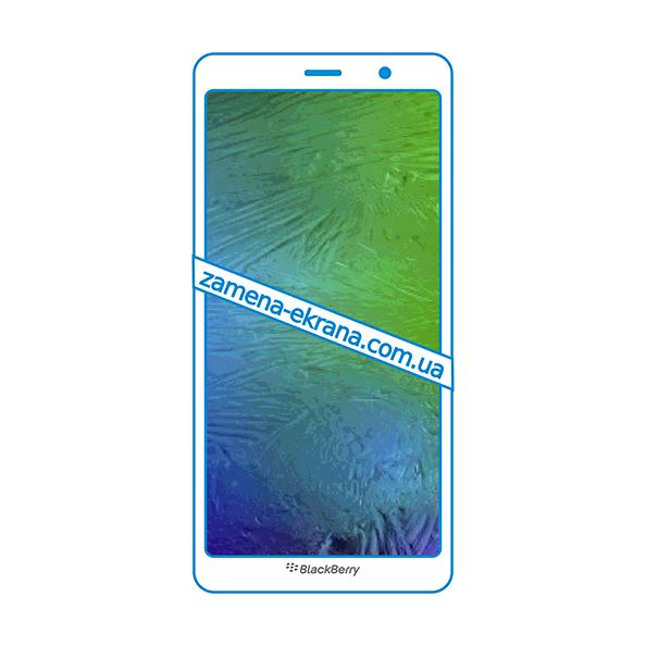 дисплей и стекло корпуса  для замены BlackBerry Evolve