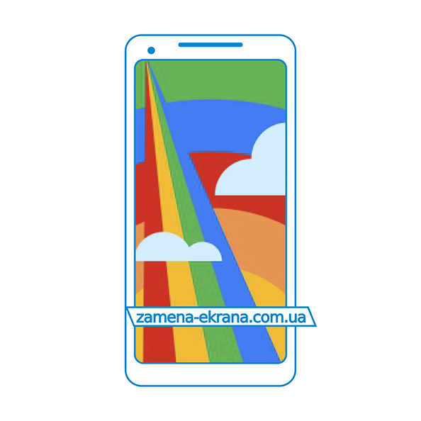 дисплей и стекло корпуса  для замены Google Pixel 2 XL