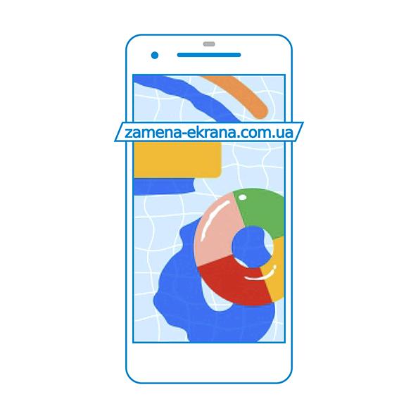 дисплей и стекло корпуса  для замены Google Pixel 2