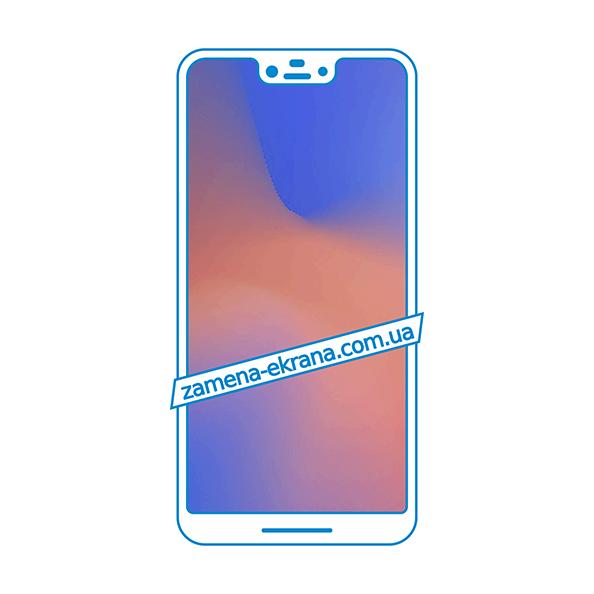 дисплей и стекло корпуса  для замены Google Pixel 3 XL