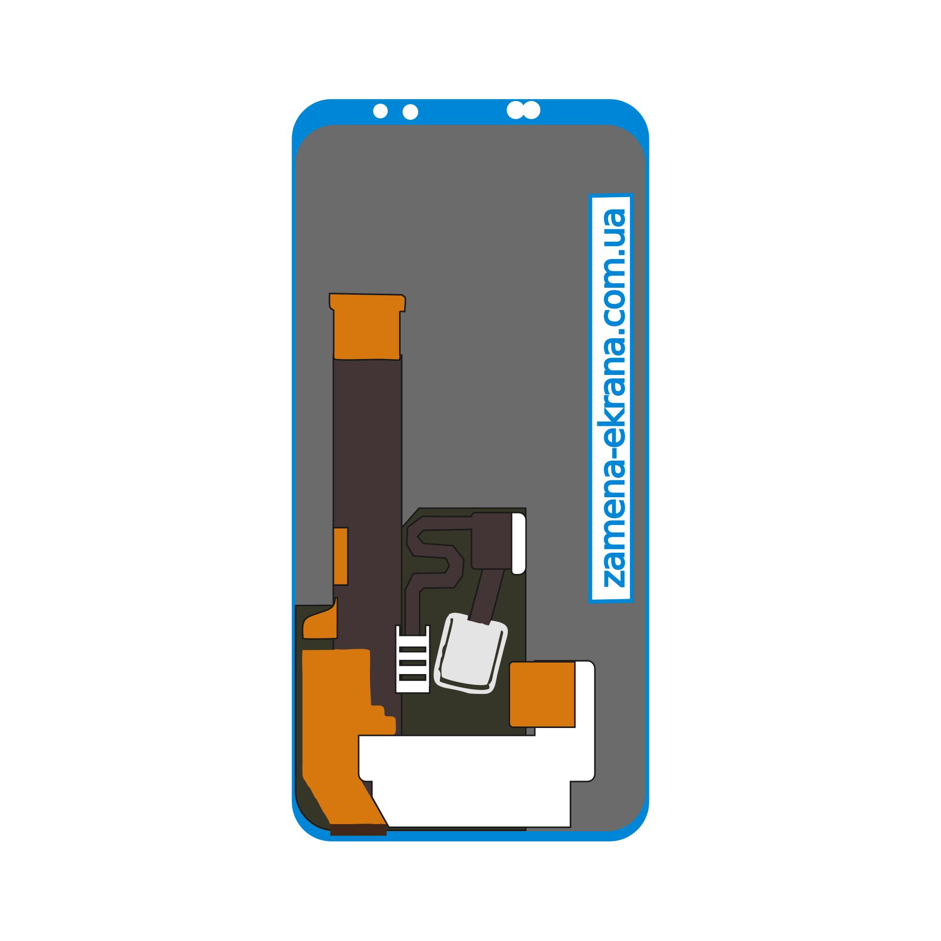 дисплей для замены Meizu 16 Plus