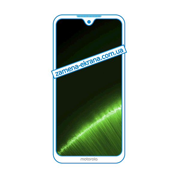 дисплей и стекло корпуса  для замены Motorola Moto G7 Plus