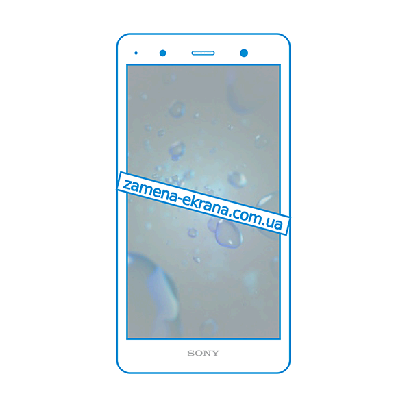 дисплей и стекло корпуса  для замены Sony Xperia XZ2 Premium