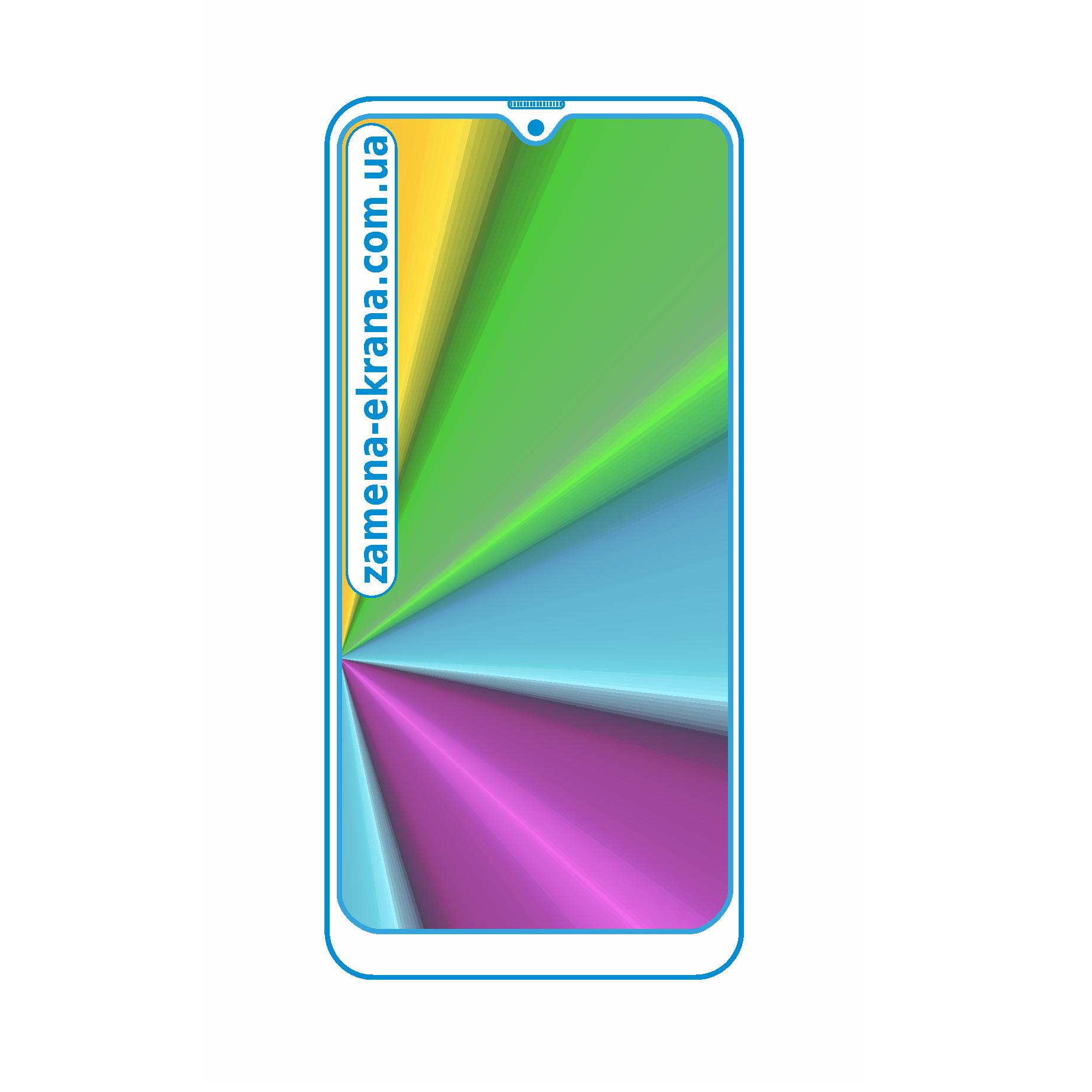 стекло для наклейки Samsung galaxy M10