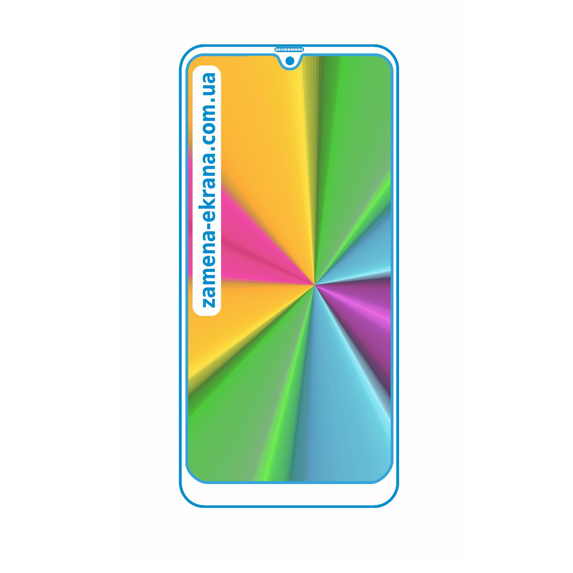 стекло для наклейки Samsung galaxy M20