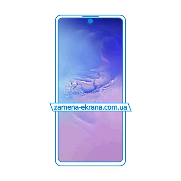 стекло для наклейки Samsung Galaxy S10 Lite
