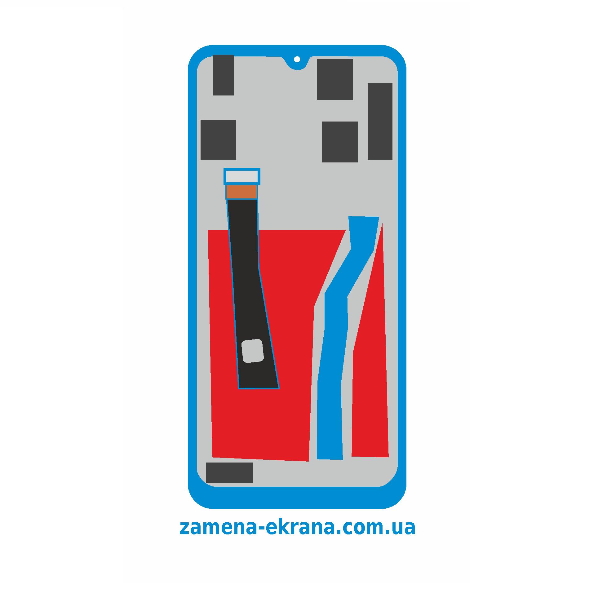 дисплей для замены Huawei P Smart Z