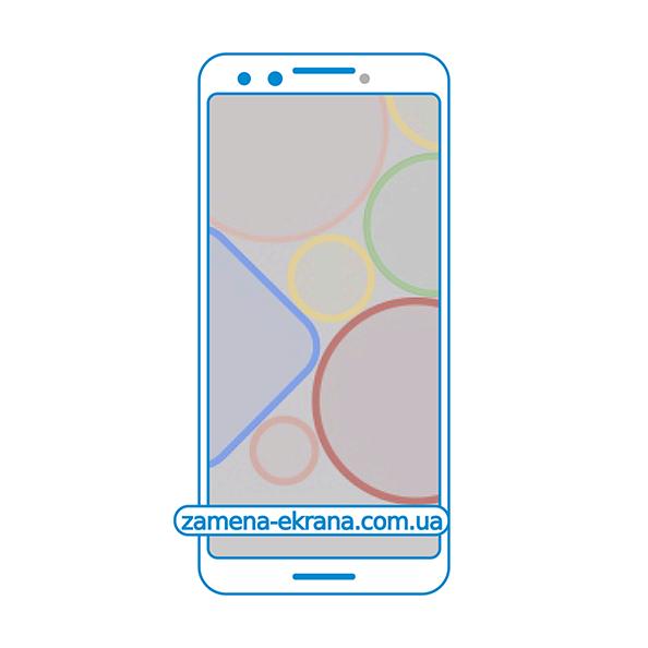 дисплей и стекло корпуса  для замены Google Pixel 3