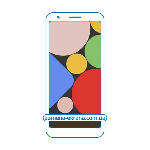 дисплей и стекло корпуса  для замены Google Pixel 3a XL