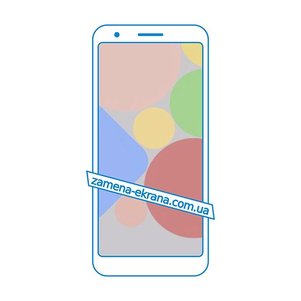 дисплей и стекло корпуса  для замены Google Pixel 3a
