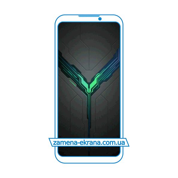 дисплей и стекло корпуса  для замены Xiaomi Black Shark 2