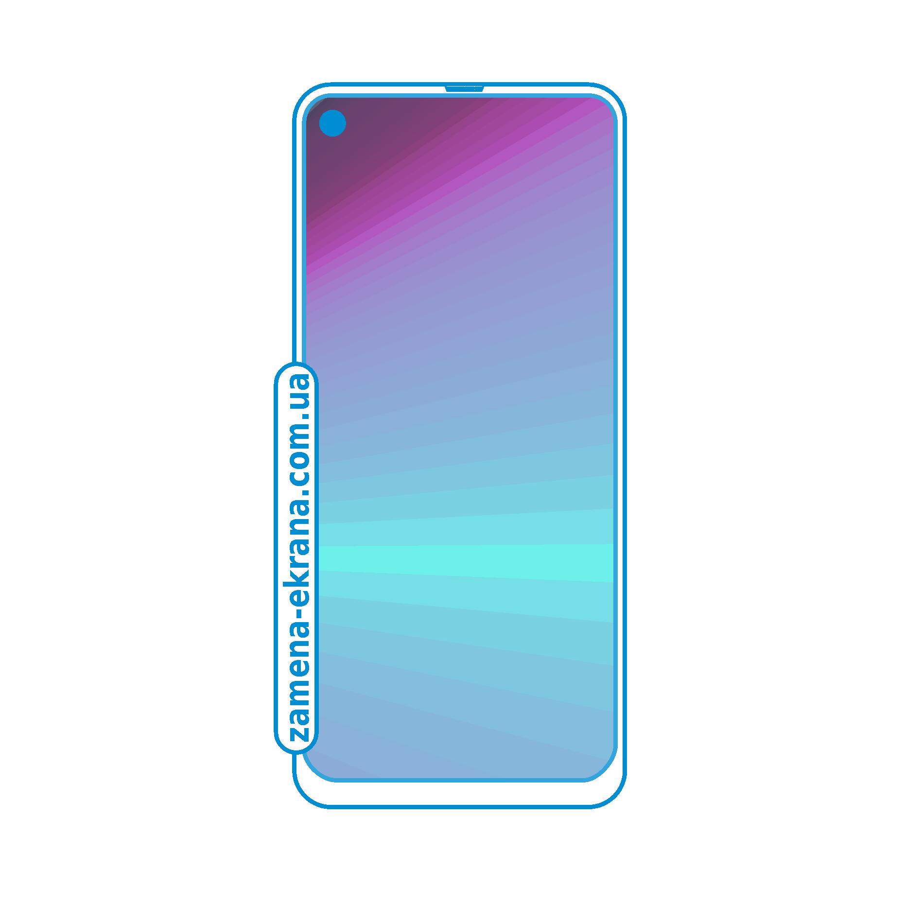 стекло для наклейки Samsung Galaxy A60