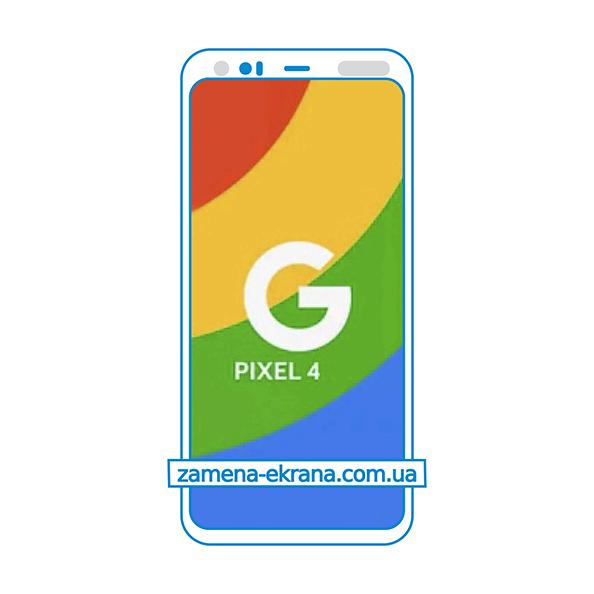 дисплей и стекло корпуса для замены Google Pixel 4