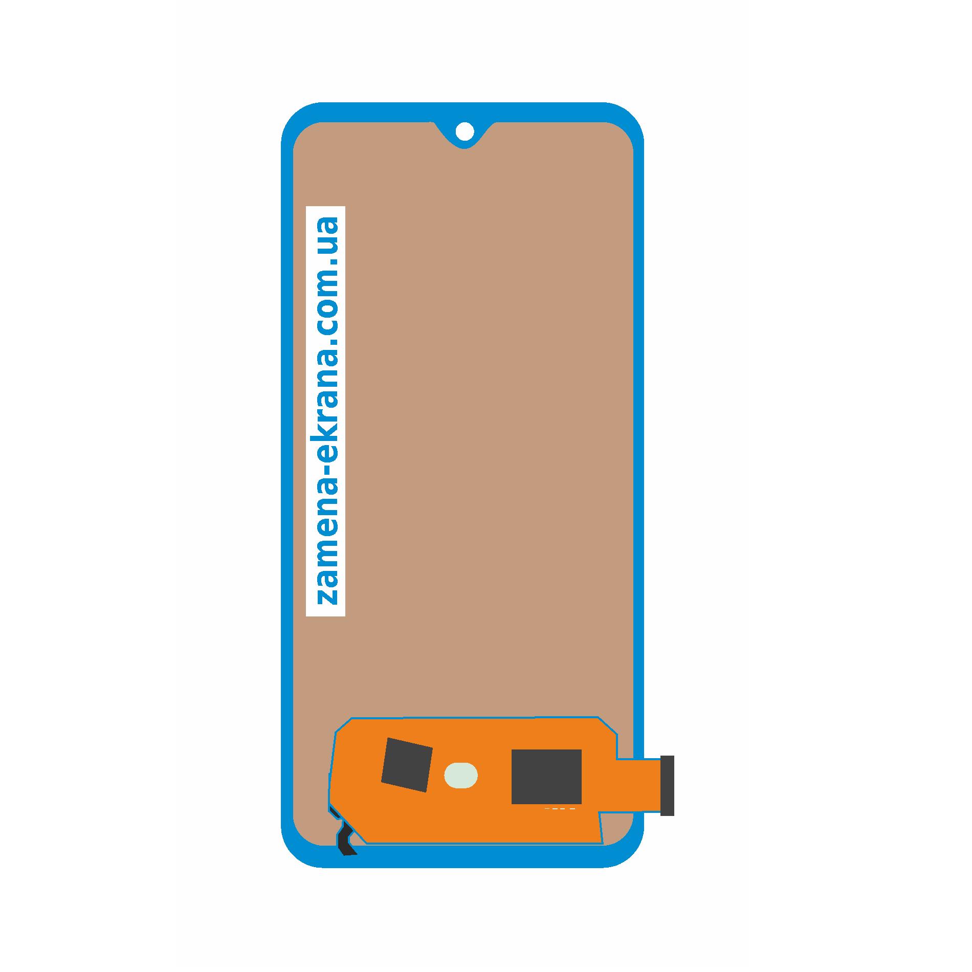 дисплей для замены Samsung Galaxy A70