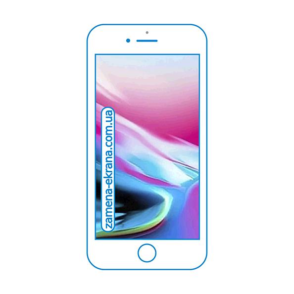 дисплей и стекло корпуса  для замены Apple iPhone 8