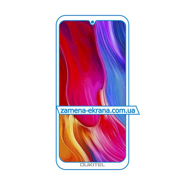 дисплей и стекло корпуса  для замены Oukitel Y1000