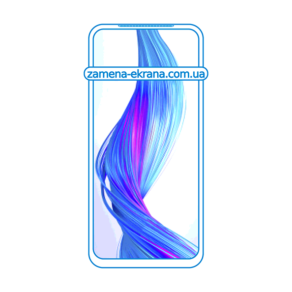 дисплей и стекло корпуса  для замены Realme X