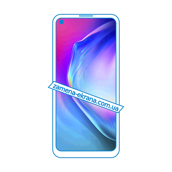 дисплей и стекло корпуса  для замены Tecno Camon 12 Air