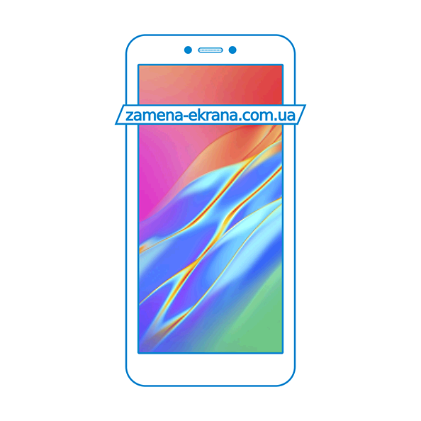 дисплей и стекло корпуса  для замены Tecno Pop 2 Power