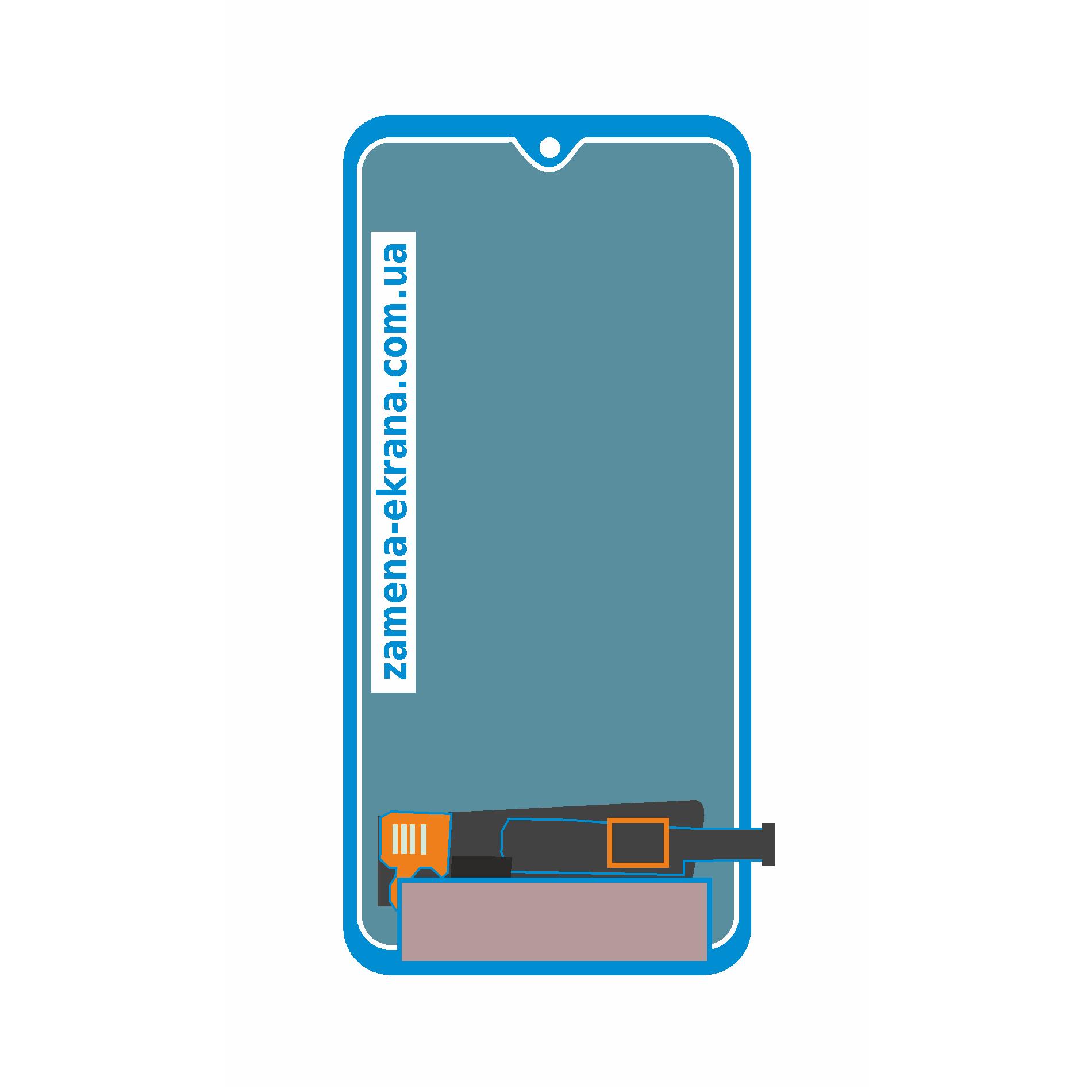 дисплей для замены Samsung Galaxy A71