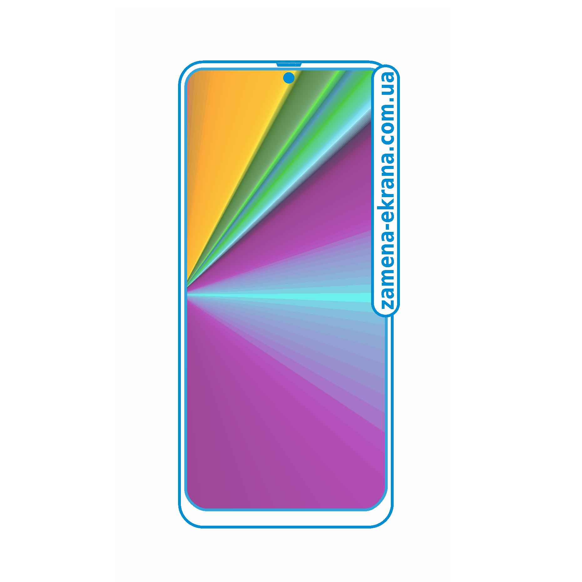стекло для наклейки Samsung Galaxy A51