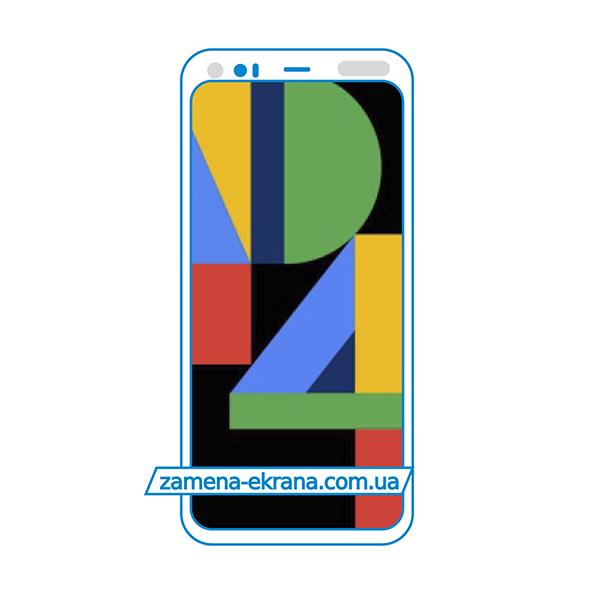 дисплей и стекло корпуса  для замены Google Pixel 4 XL