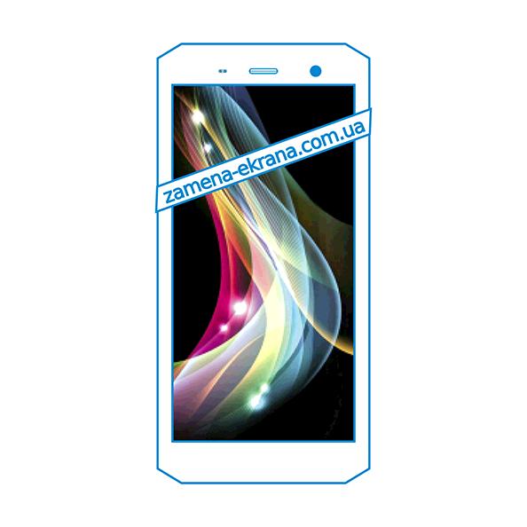 дисплей и стекло корпуса  для замены Sigma Mobile X-treme PQ36
