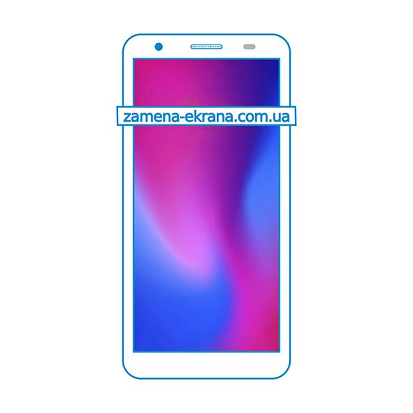 дисплей и стекло корпуса  для замены ZTE Blade A3 2020