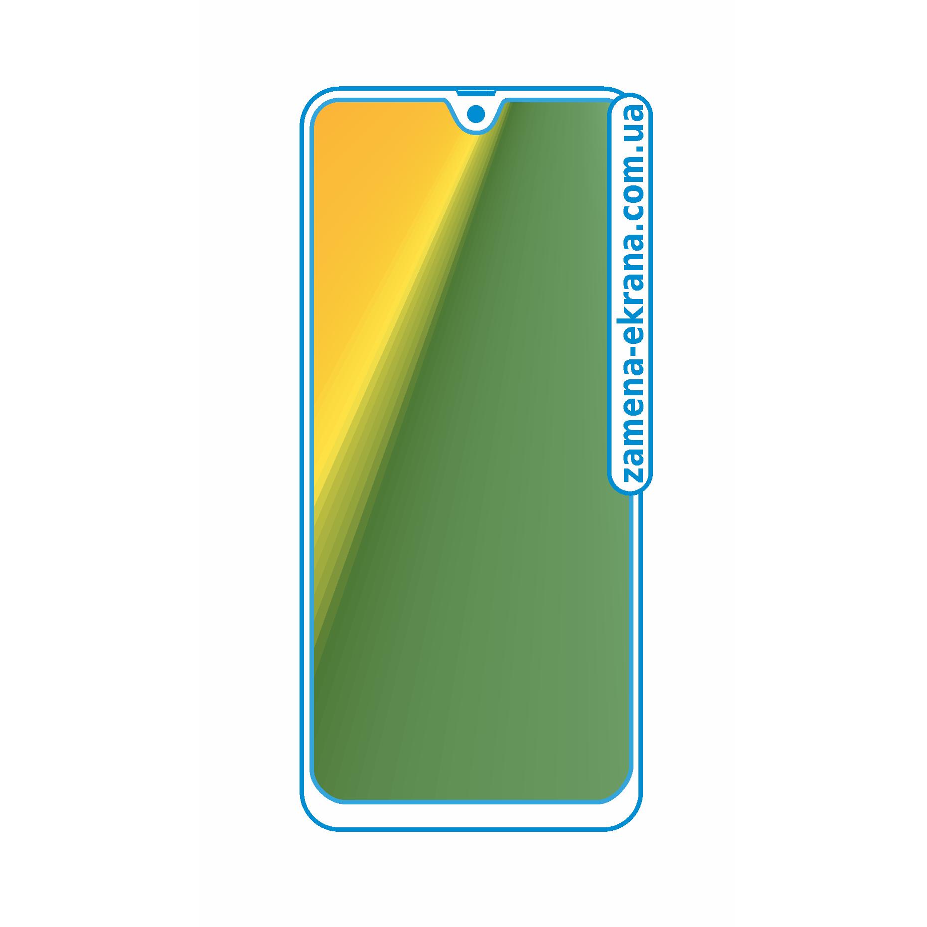 стекло для наклейки Samsung Galaxy A50