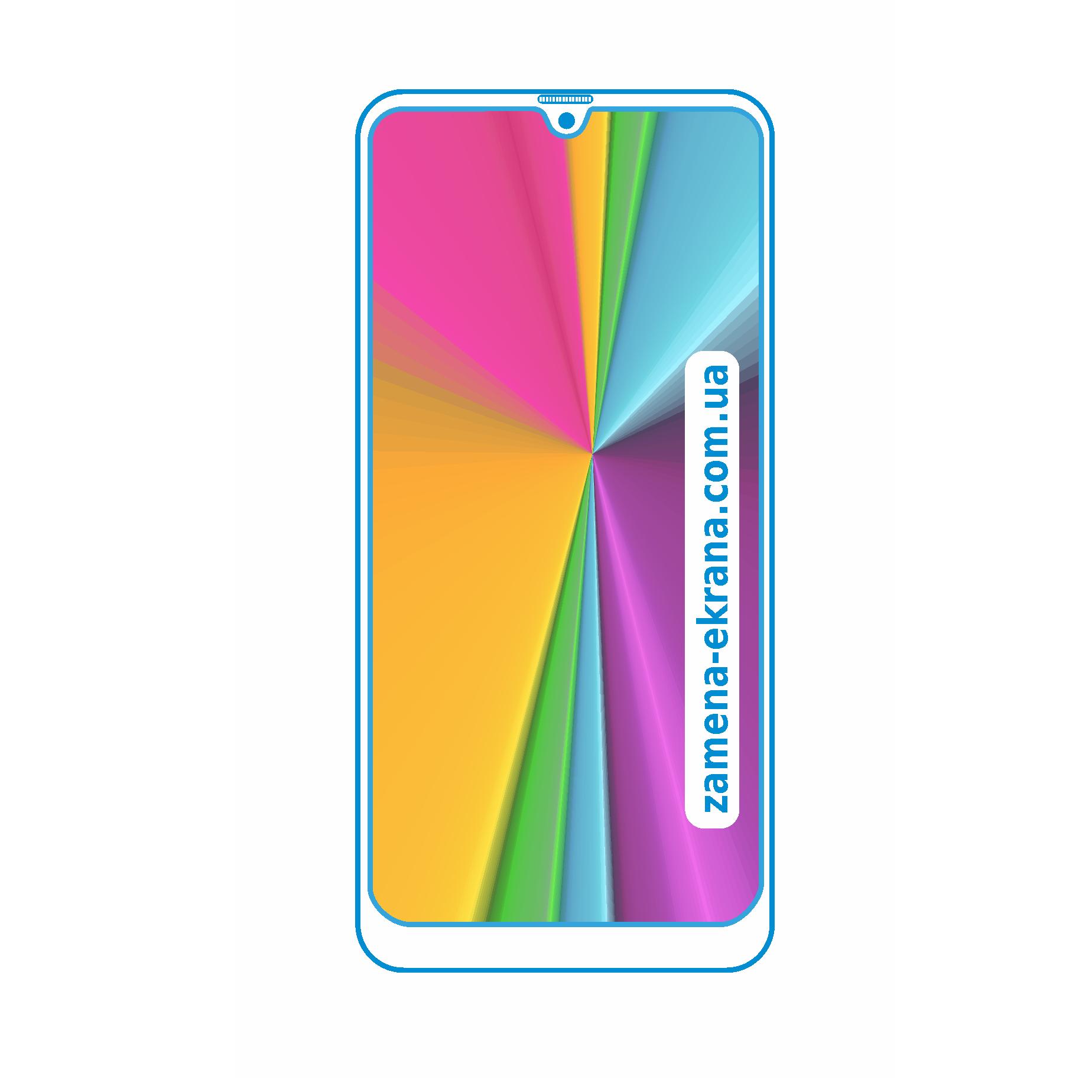 стекло для наклейки Samsung galaxy M21