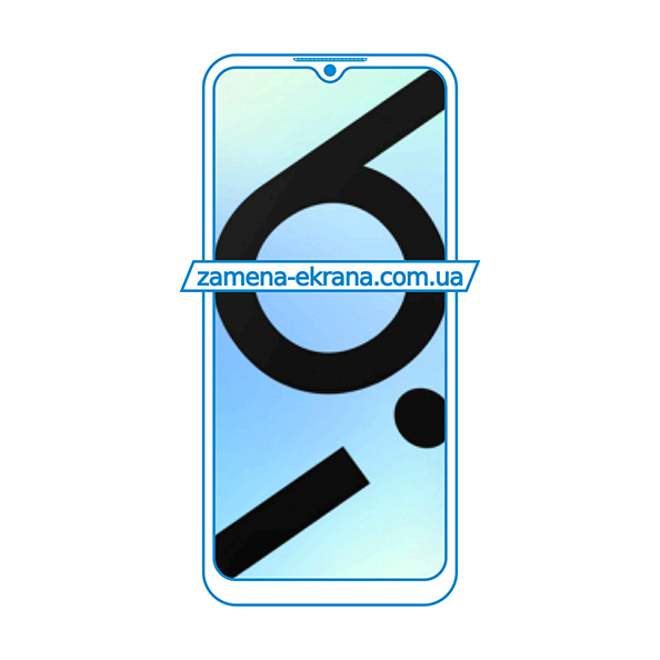 дисплей и стекло корпуса  для замены Oppo Realme 6i