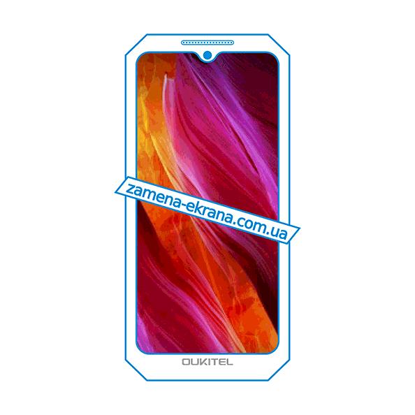 дисплей и стекло корпуса  для замены Oukitel WP6