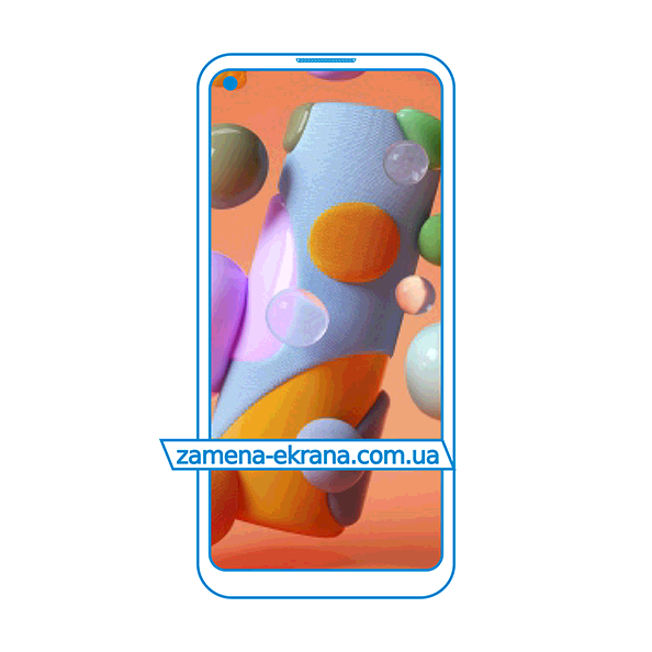 дисплей и стекло корпуса для замены Samsung Galaxy A11