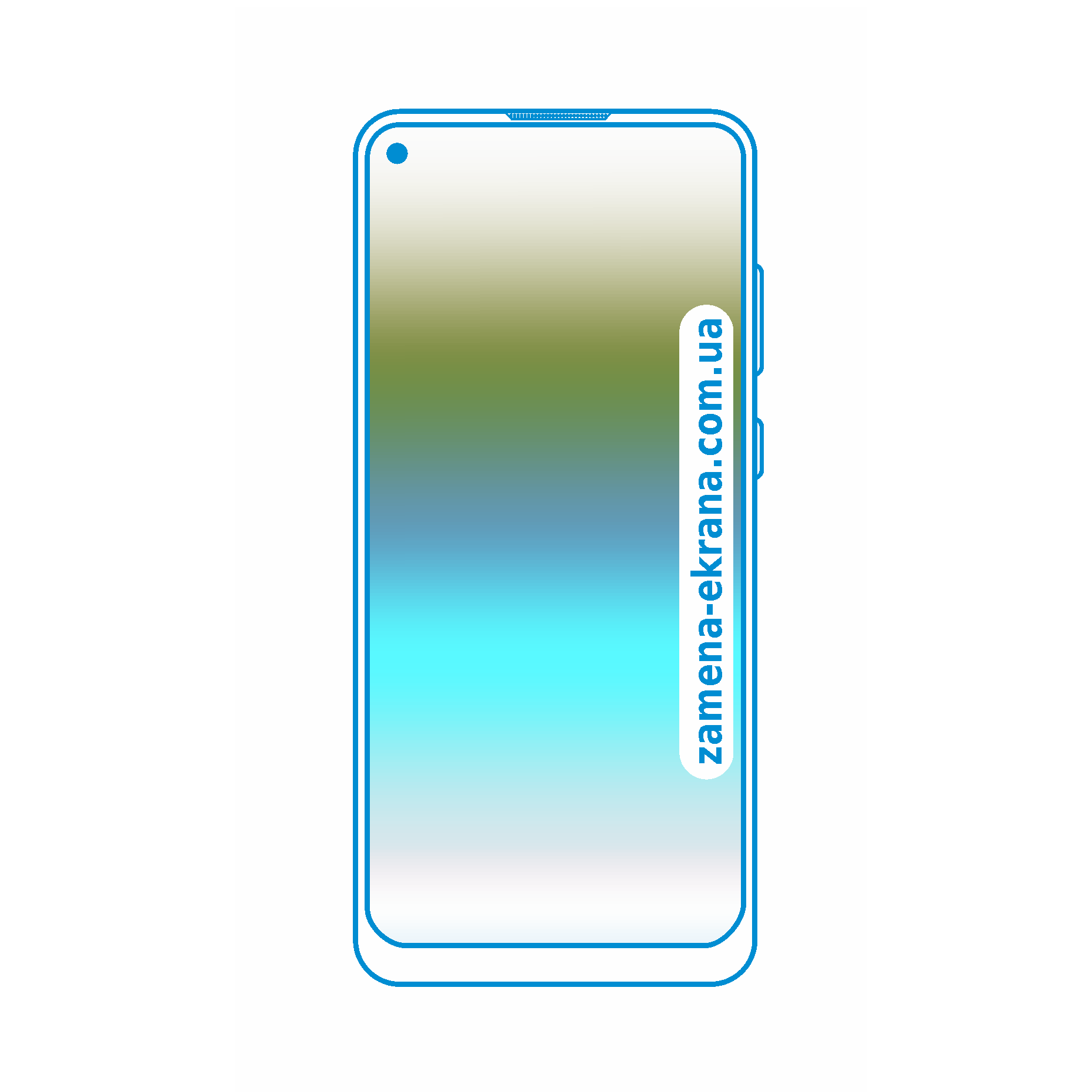 стекло для наклейки Samsung Galaxy A11