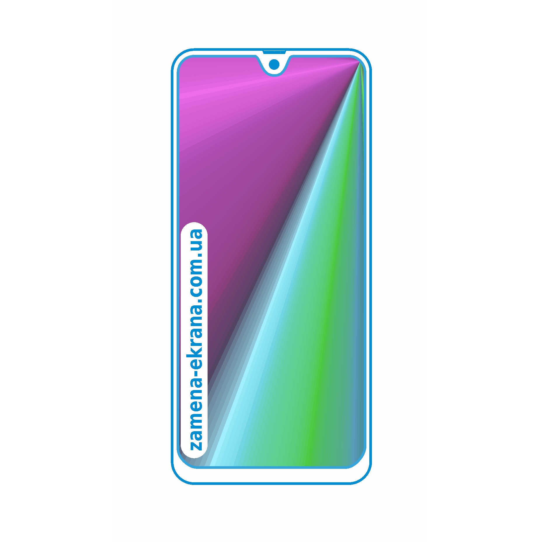 стекло для наклейки Samsung Galaxy A31