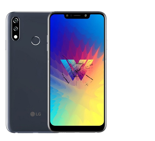 Ремонт экрана LG W10
