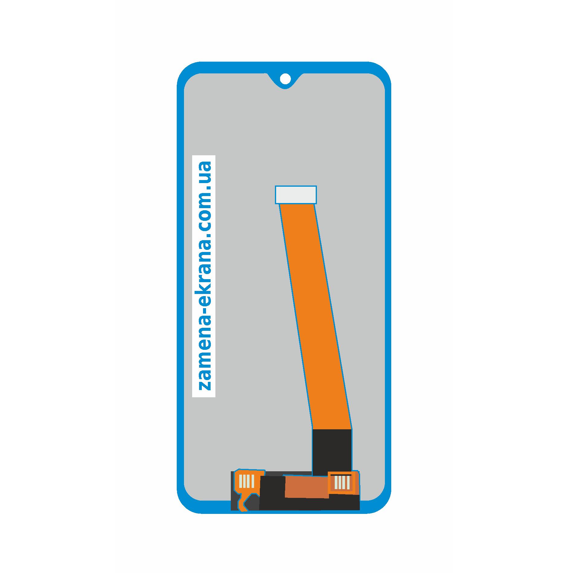 дисплей для замены Samsung Galaxy A20
