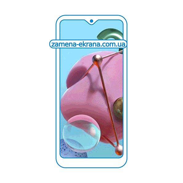 дисплей и стекло корпуса  для замены LG Q51
