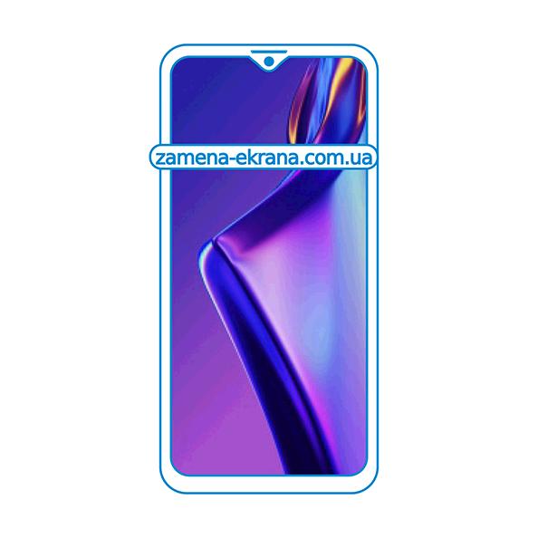 дисплей и стекло корпуса  для замены Oppo A12