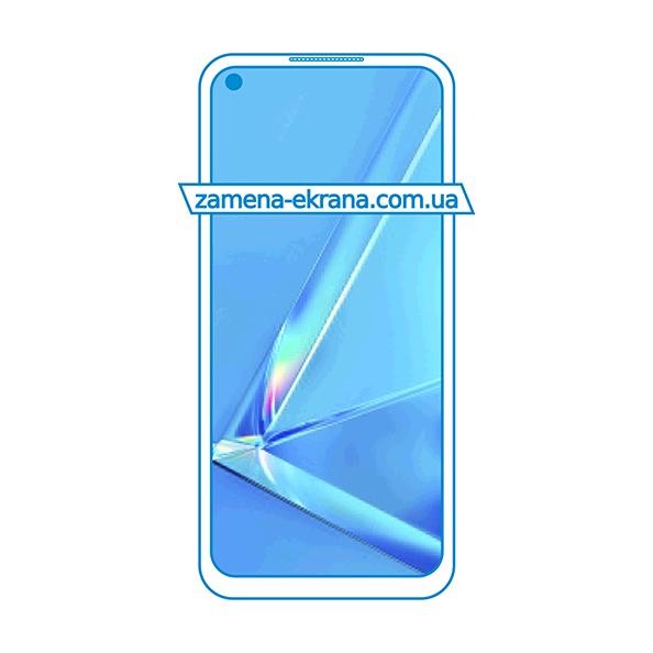 дисплей и стекло корпуса  для замены Oppo A52