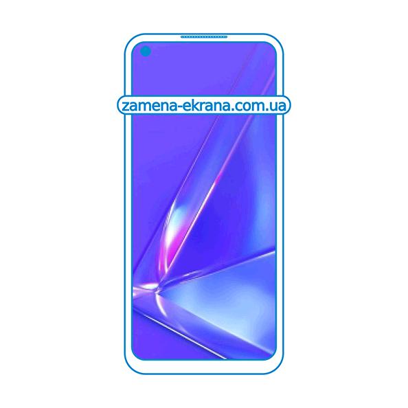 дисплей и стекло корпуса  для замены Oppo A72