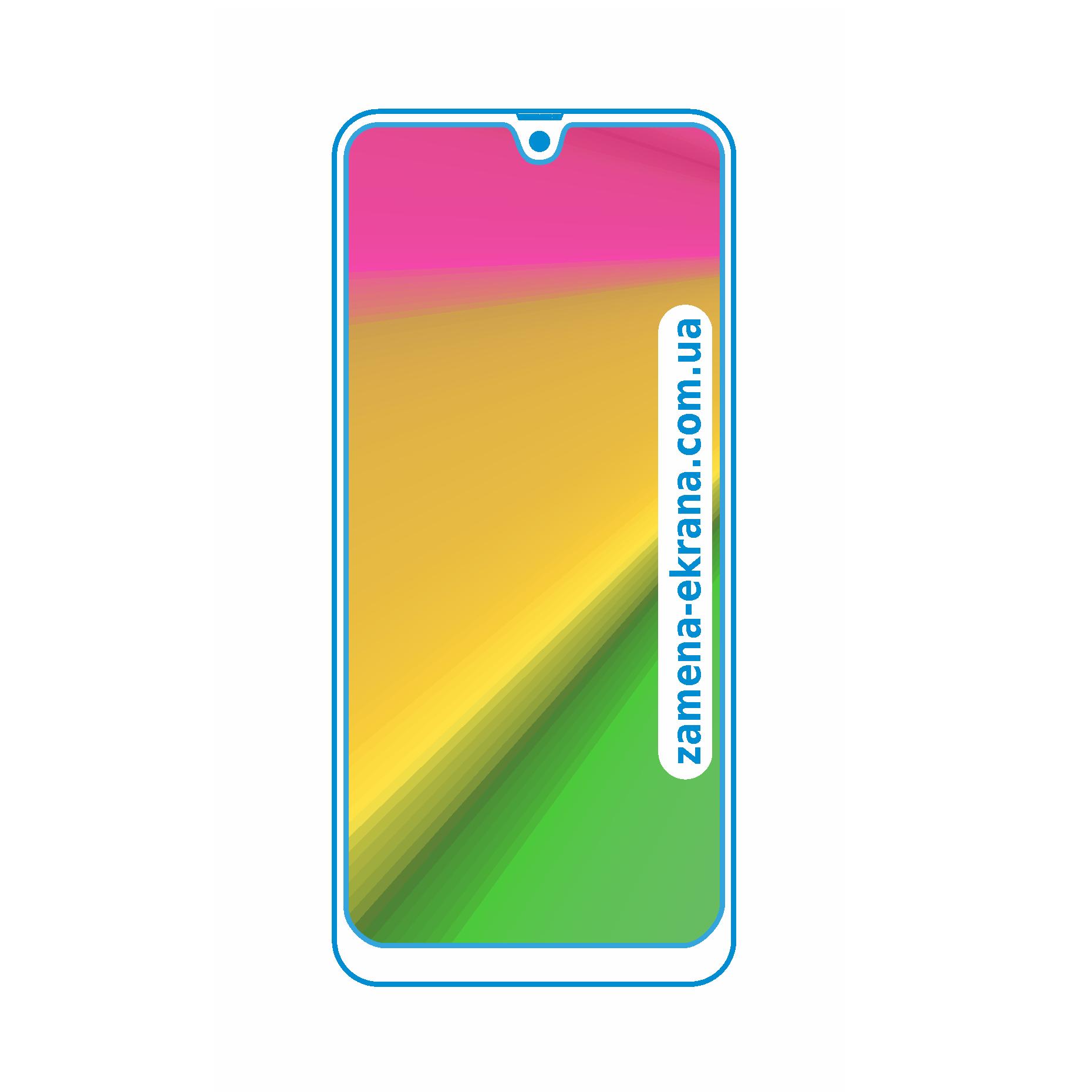стекло для наклейки Samsung Galaxy A20