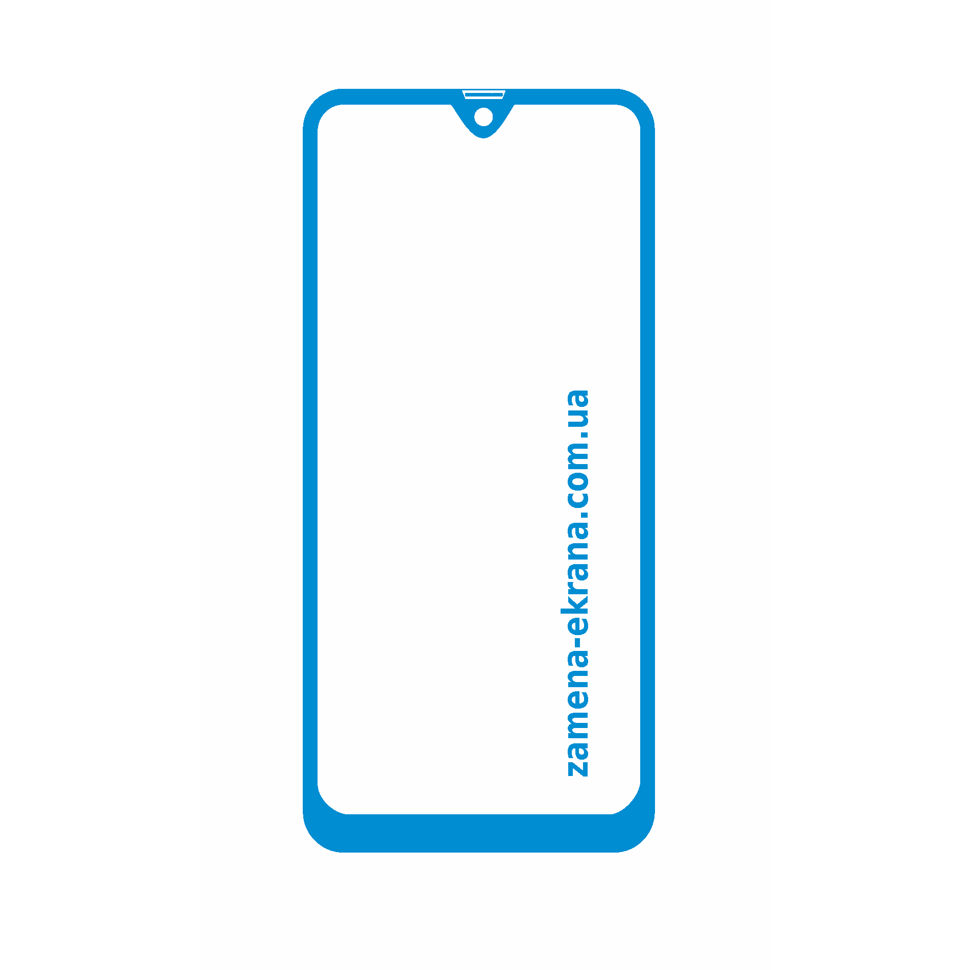 стекло корпуса Samsung Galaxy A20