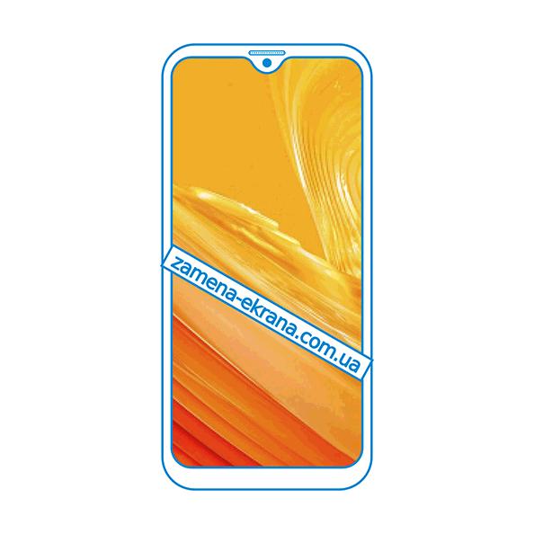 дисплей и стекло корпуса  для замены UleFone Note 8