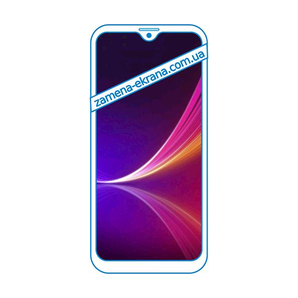 дисплей и стекло корпуса  для замены UleFone Note 8P