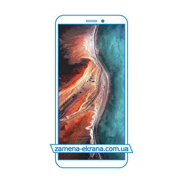 дисплей и стекло корпуса  для замены UleFone P6000 Plus