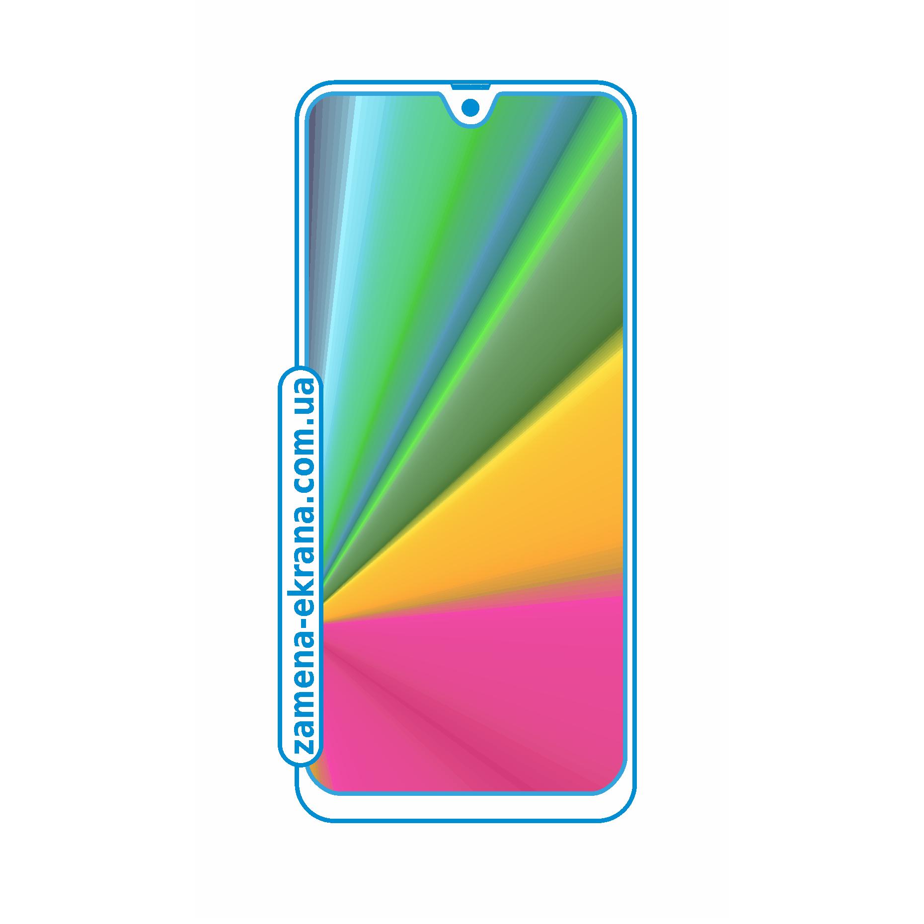 стекло для наклейки Samsung Galaxy A41