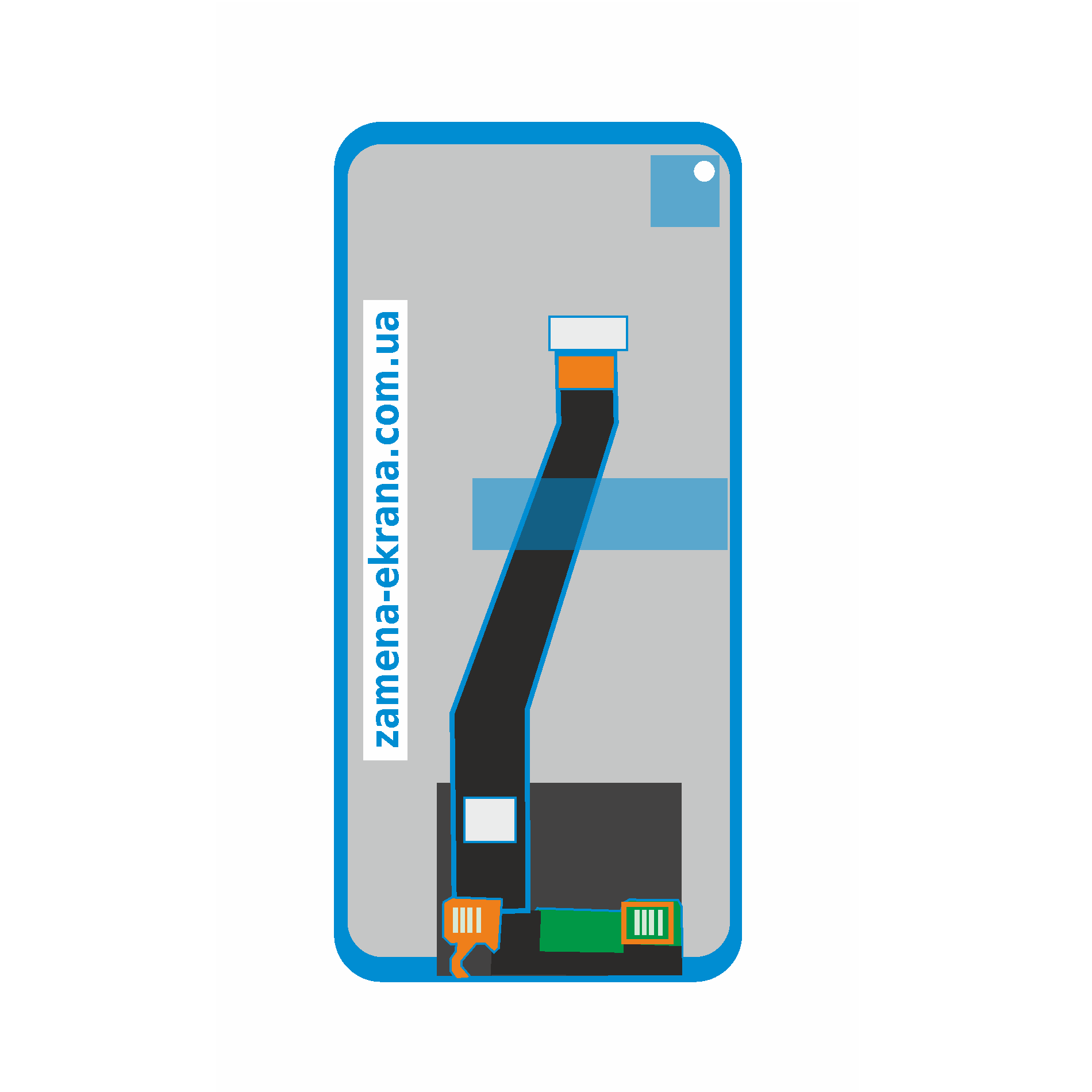 дисплей для замены Samsung Galaxy A21
